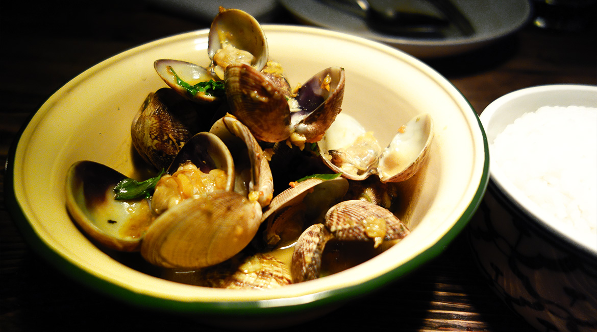 Som Saa, Clams, Thai, London